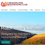Caravan And Motorhome Club Insurance