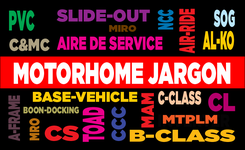 Glossary of Motorhome Terms