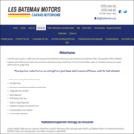 Les Bateman Motors, Rochford Essex