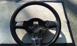 Volkswagon T5- transporter /  Golf - Leather steering wheel