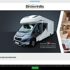 Brownhills Motorhomes New & Used Motorhomes + Accessories |