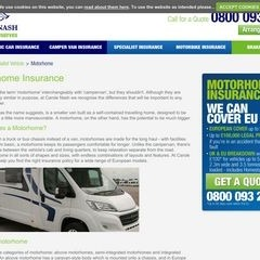 Carole Nash Motorhome insurance -