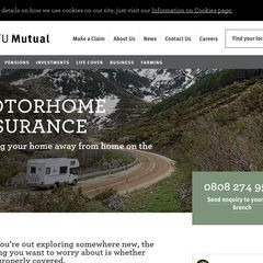 NFU Mutual Motorhome & Campervan Comprehensive Insurance