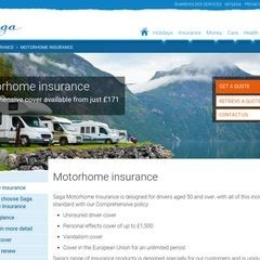 Saga Over 50s Motorhome Insurance UK