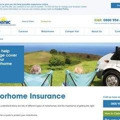 Scenic Motorhome Insurance
