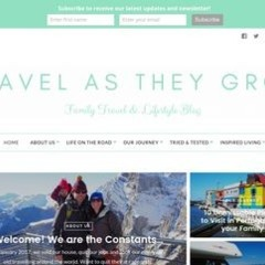 Travel As They Grow -