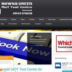 Cannock, Staffs - MOT test garage for motorhomes