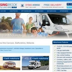 Staffordshire motorhome hire