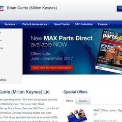 New, Used Trucks Milton Keynes, Truck Parts, Truck Servicing | Brian Currie (Milton Keynes) Ltd