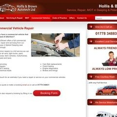 Commercial Vehicle Repair – Peterborough | Hollis & Brown
