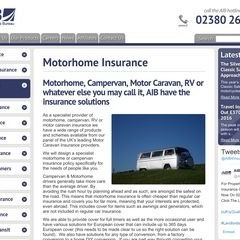 Motorhome Insurance from AIB