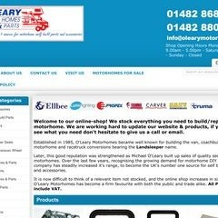 O'Leary Motorhomes - Accessory Supplies & Parts