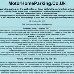 MotorHomeParking.Co.Uk