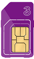 The best data Sim card from Three