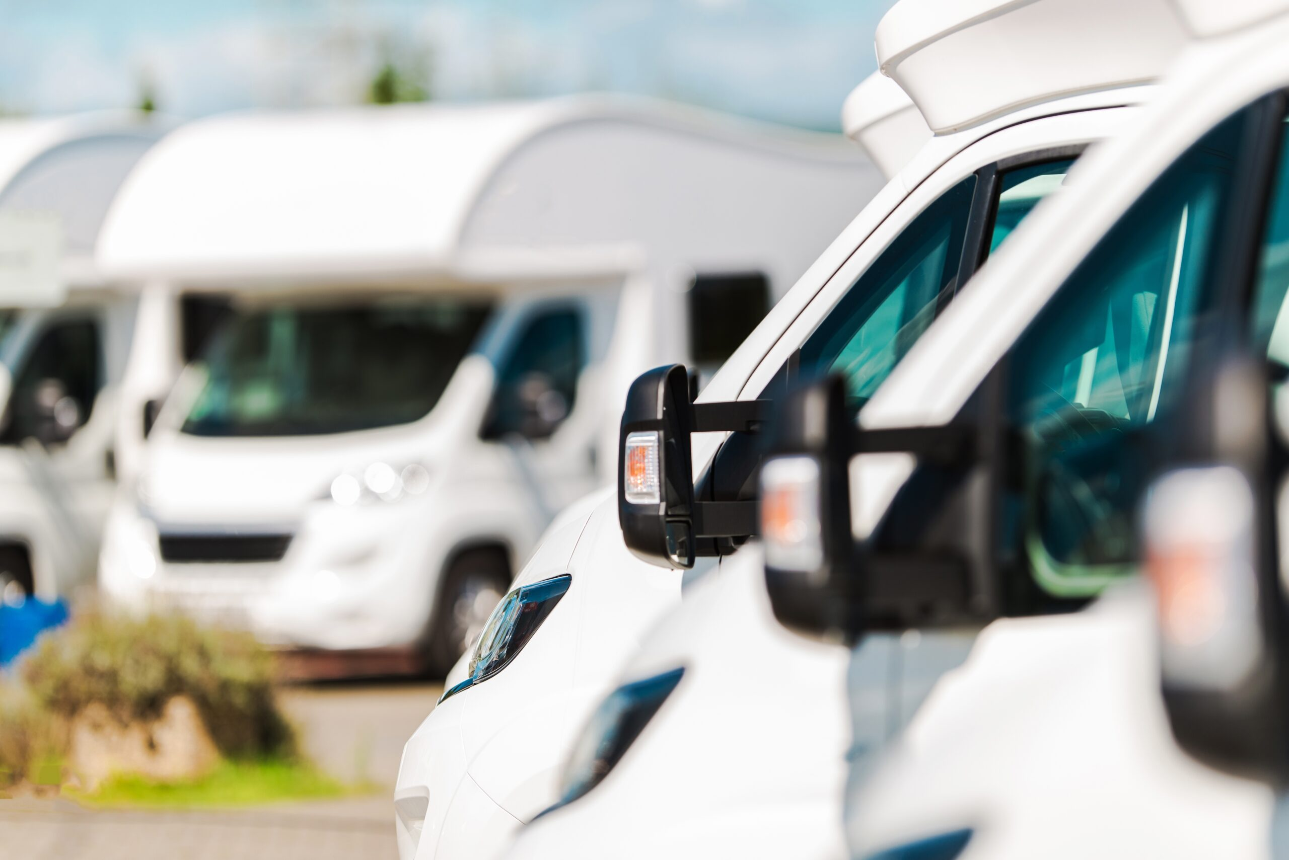 Negotiating for a motorhome